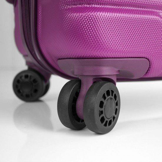 ABS куфар 76 см. лилав – Balance