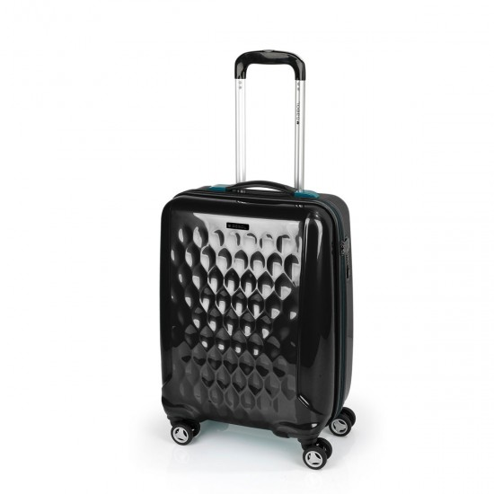 ABS куфар 55 см. черен - LId