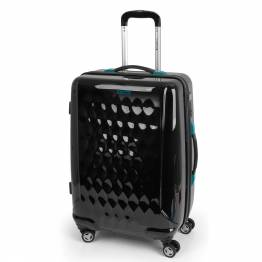 ABS куфар 67 см. черен - LId