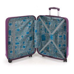 ABS куфар 55 см лилав - Balance