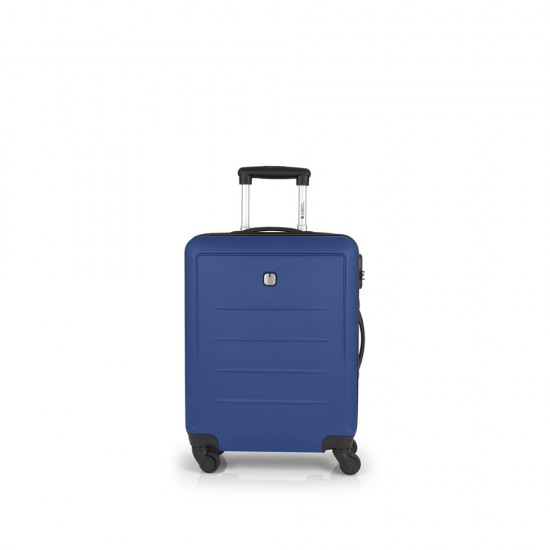 ABS куфар 55 см Malibu - син