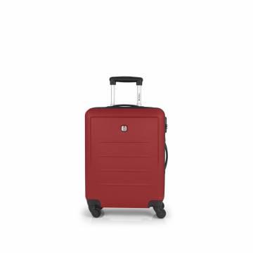 ABS куфар 55 см Malibu - червен