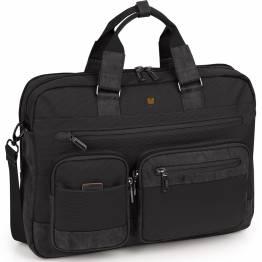 """Бизнес чанта за лаптоп 15.6"""" Process черна"""