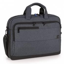 Бизнес чанта за лаптоп - сива