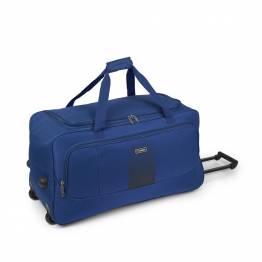 Пътна чанта на колела 73 см. синя - Roll