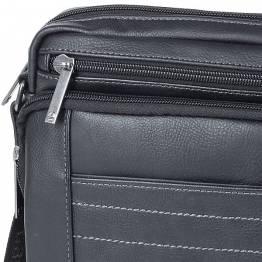 Мъжка чанта Borneo сива