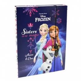 Karton P+P ПАПКА-Кутия с ластик A4 Frozen