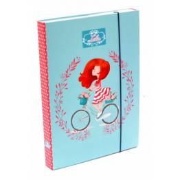 Karton P+P ПАПКА-Кутия с ластик A4 Lola