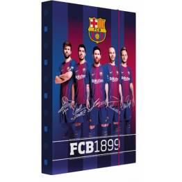 Karton P+P ПАПКА-Кутия с ластик A4 FCBarcelona