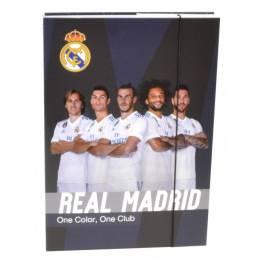 Karton P+P ПАПКА-Кутия с ластик A4 Real Madrid