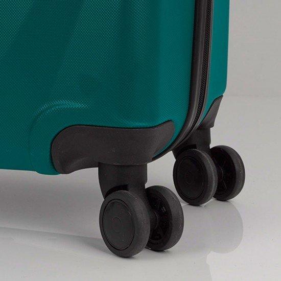 ABS куфар 77 см. тюркоаз – Royal