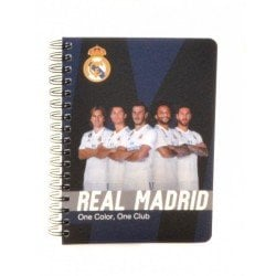БЕЛЕЖНИК А6, 70л., Спирала Real Madrid
